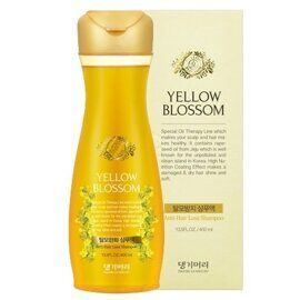 Шампунь от выпадения волос — Daeng Gi Meo Ri Yellow Blossom Anti-Hair Loss Shampoo 400ml