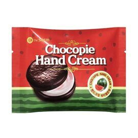 Крем для рук чокопай «Арбуз». The Saem Chocopie Hand Cream Watermelon 35ml.
