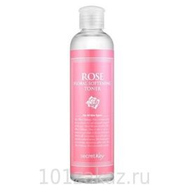 Тонер для лица с экстрактом розы – Secret Key Rose Floral Softening Toner 248ml