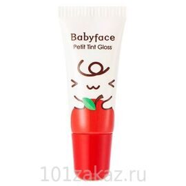 It's Skin Babyface Petit Tint Gloss 01 Apple блеск-тинт для губ, 8 мл
