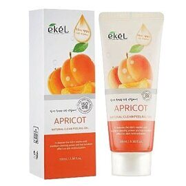 Пилинг-гель для лица «Абрикос» — Ekel Natural Clean Peeling Gel Apricot 100ml