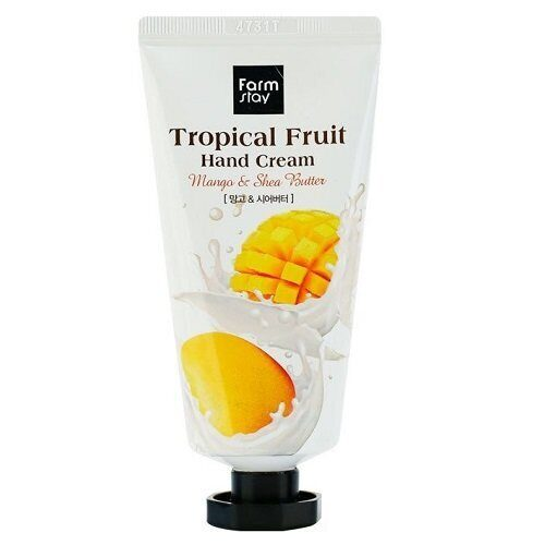 Крем для рук с манго и маслом ши – FarmStay Tropical Fruit Hand Cream Mango & Shea Butter 50ml