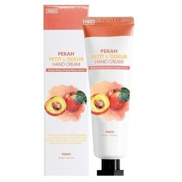 Крем для рук «Персик». Pekah Petit L'Odeur Peach Hand Cream 30ml.
