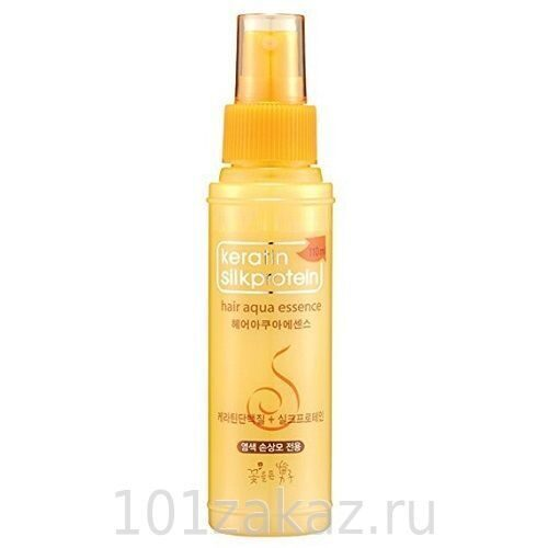 Somang Флюид-эссенция для волос с кератином / Somang Keratin Silkprotein Hair Aqua Essence 110ml